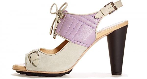 TJMAXX Lavender and White Heels