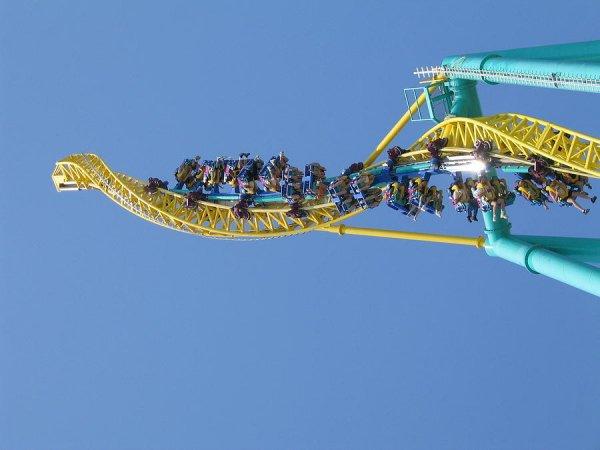 Wicked Twister, Cedar Point, Ohio