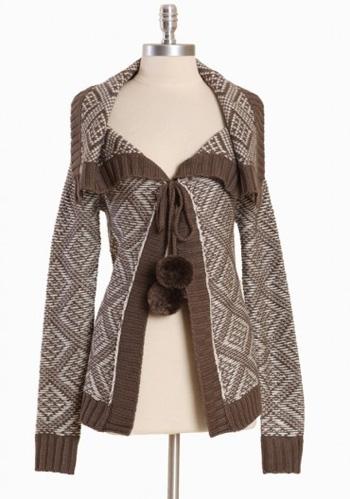 Grandar Printed Sweater