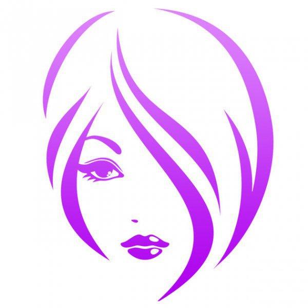 violet, purple, head, eye, font,