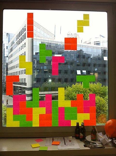 Tetris in the Window