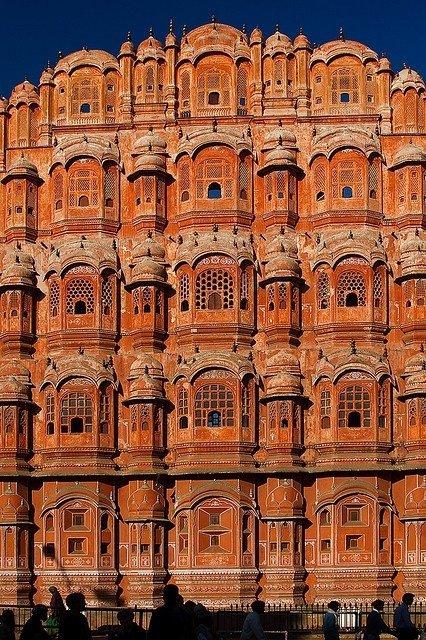 Hawa Mahal,historic site,landmark,ancient history,architecture,
