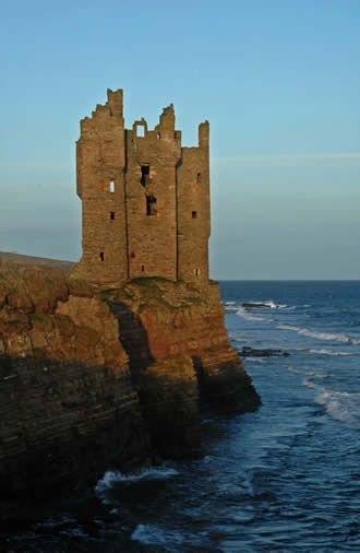Keiss Castle, Scotland