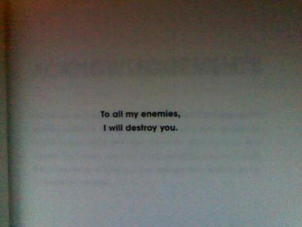 All My Enemies