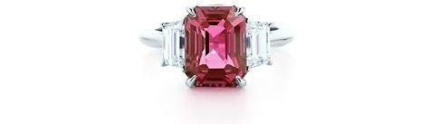 Tiffany Pink Sapphire Ring