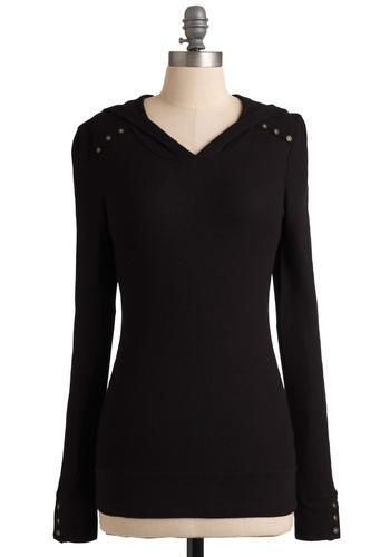 Street Style Starlet Top in Black