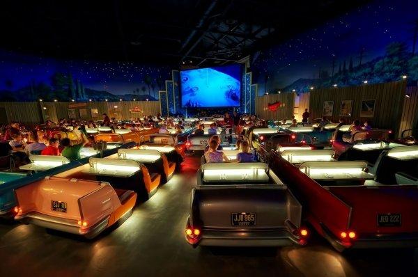 The Sci-Fi Dine-in Theater