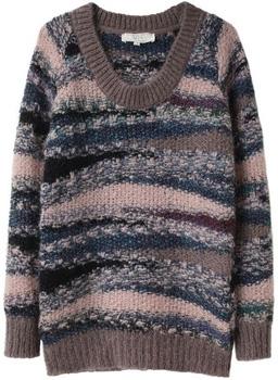 Vanessa Bruno Athé Scoop Neck Mohair Sweater
