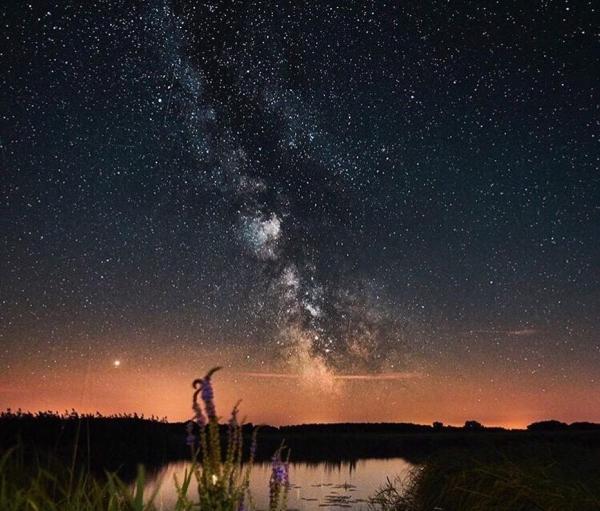 sky, nature, atmosphere, night, water,