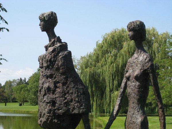 Take a Stroll in Lynden Sculpture Garden