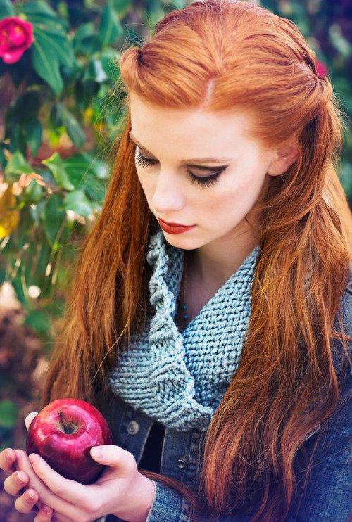 Knit Infinity Scarves