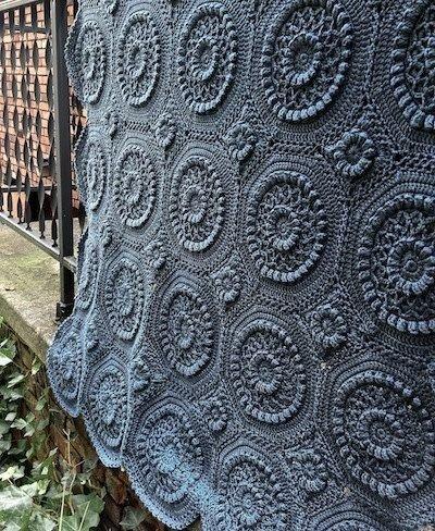 Matelass Crochet Afghan Pattern 30 Beautiful Afghans To