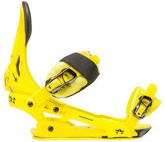 Mens Arsenal Snowboard Bindings Lime LXL
