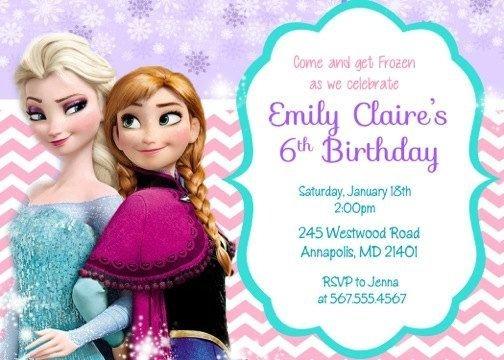 Frozen Invitation