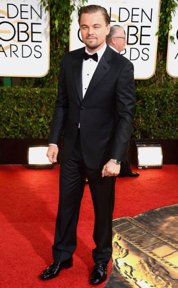 Leonardo DiCaprio in Gorgio Armani