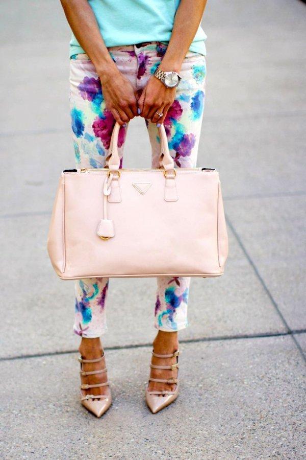 color,clothing,blue,pink,handbag,