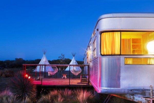 El Cosmico in Marfa, Texas, USA