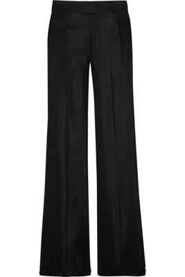 Theysken's Theory Silk-Blend Flared Trousers