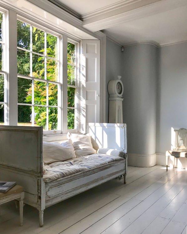 bed frame, furniture, window, window covering, interior design,