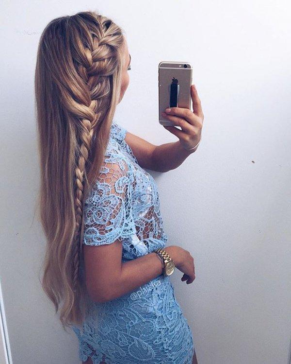 clothing, hair, hairstyle, pattern, long hair,