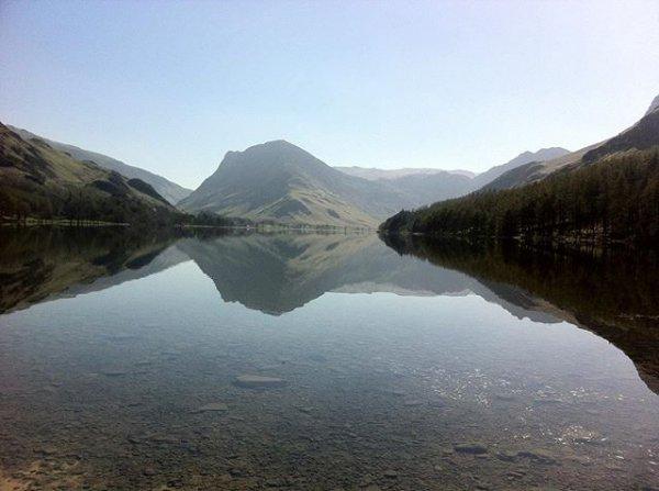 highland, mountainous landforms, lake, loch, mountain,