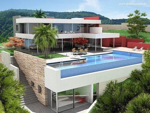 Balcony Infinity Pool, Spain
