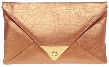 Asos Pyramid Metal Tip Clutch Bag