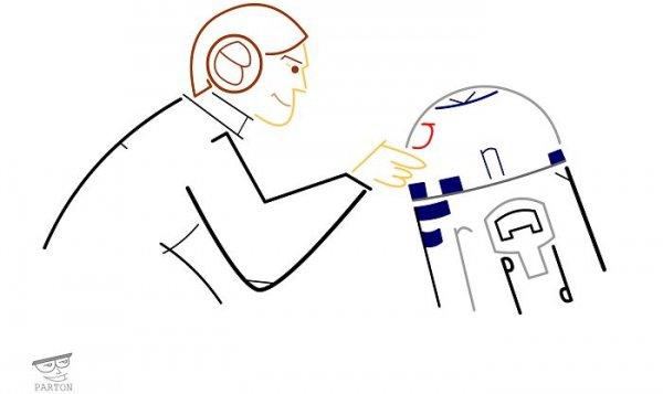 cartoon, line art, font, product, diagram,