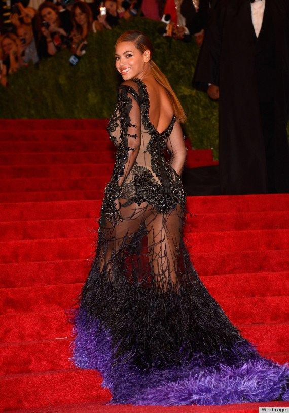 Beyonce at the 2012 Met Gala