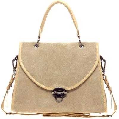 Asos Leather Drop Lock Lady Bag