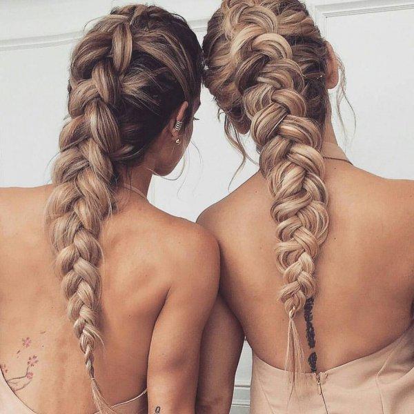hair, braid, hairstyle, french braid, long hair,