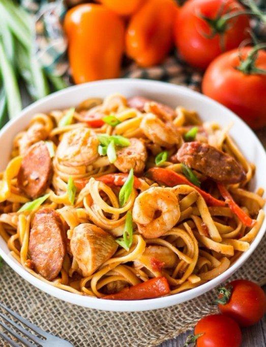 dish, food, cuisine, spaghetti, asian food,