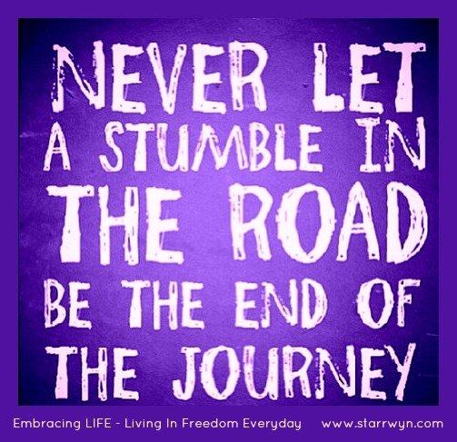 Stumbling Journey