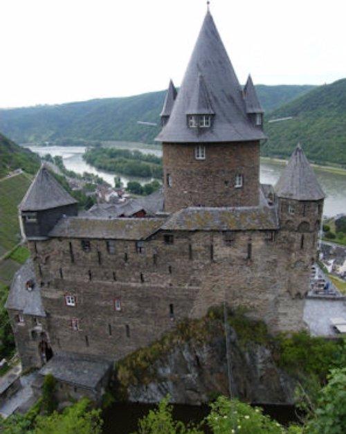 Stahleck Castle, landmark, chapel, hut,