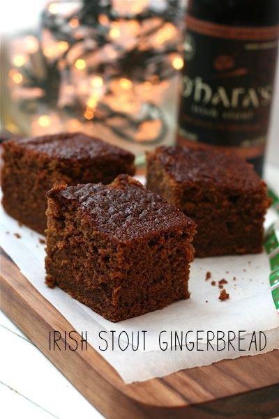 Irish Stout Gingerbread