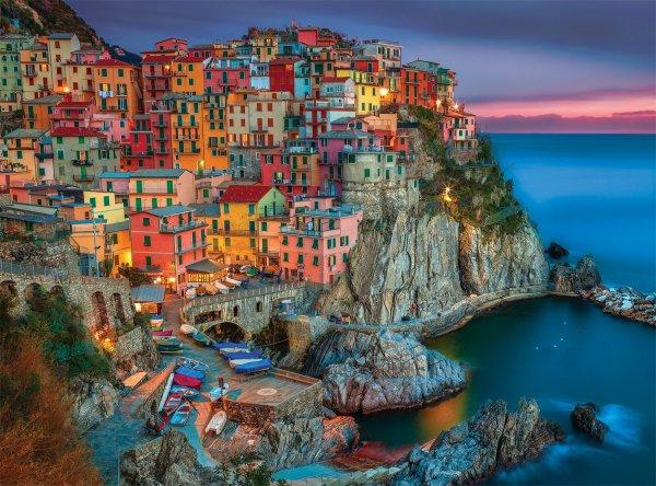 Manarola, Cinque Terre, Italy, coast, sea, bay,