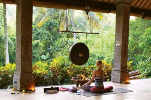 Do Yoga in Bali in Indonesia