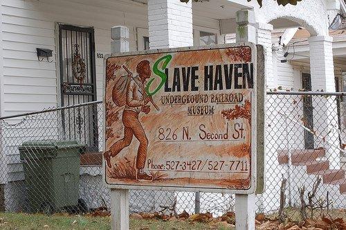 Slave Haven (Burkle Estate Museum)