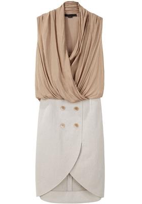Alexander Wang Tailored Blouson Dress