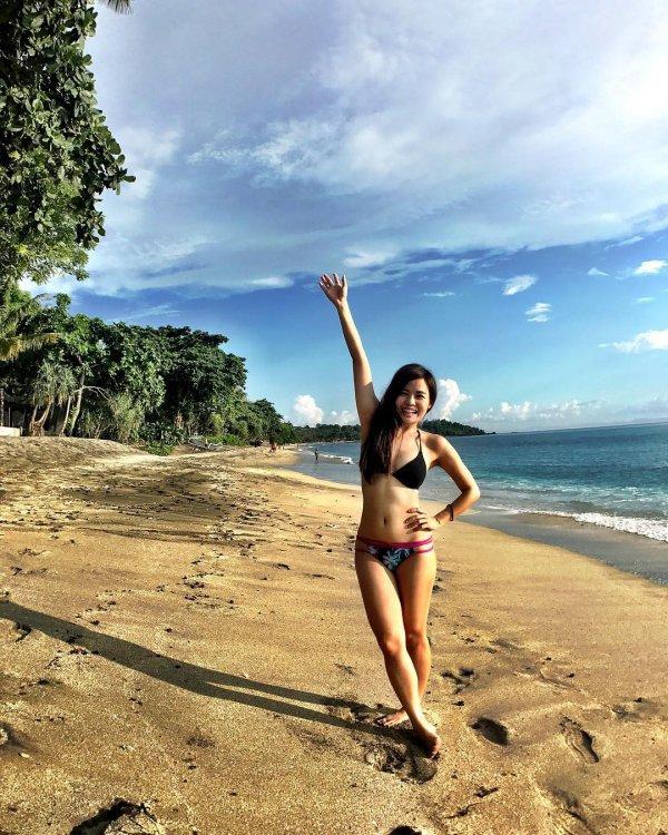 sky, beach, swimwear, vacation, beauty,