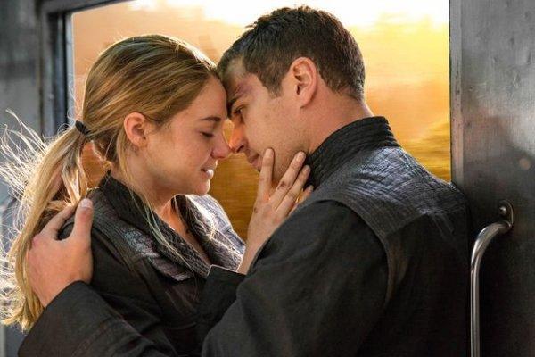 """Tris and Tobias, """"Divergent"""""""