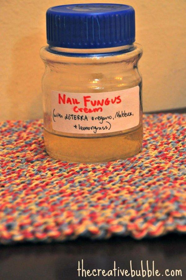 Homemade Nail Fungus Cream