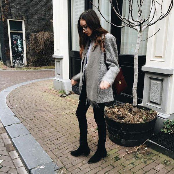 clothing, footwear, outerwear, fur, jacket,