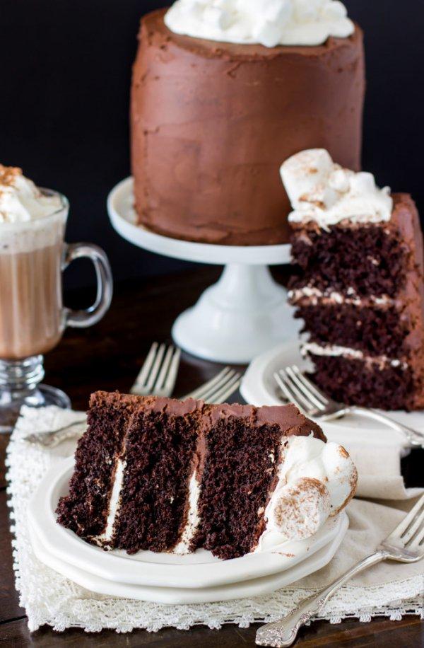 food, chocolate cake, dessert, chocolate brownie, buttercream,