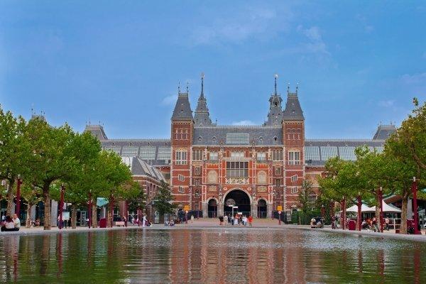 Amsterdam,Rijksmuseum Amsterdam,Rijksmuseum,Amsterdam,plaza,