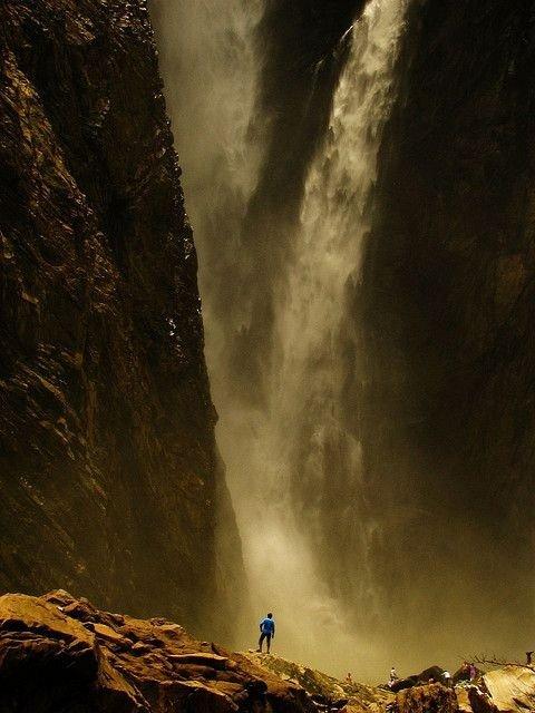 Jog Falls, near Bangalore