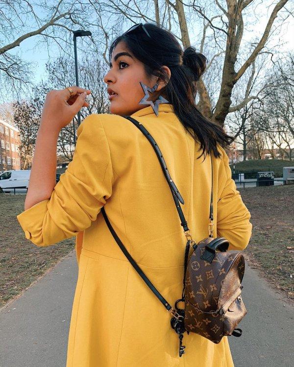 Yellow, Clothing, Street fashion, Outerwear, Jacket,
