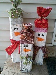 Post Snowmen