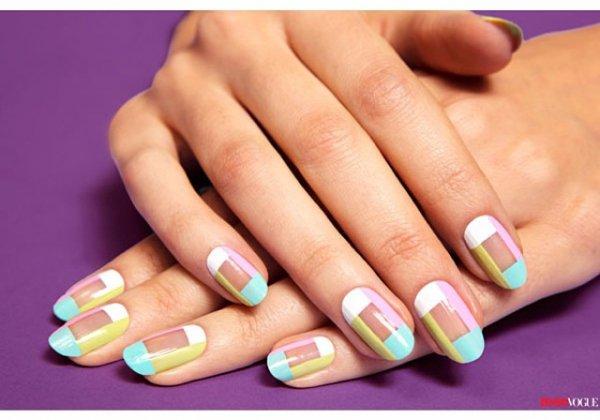 nail, manicure, nail care, cosmetics, petal,