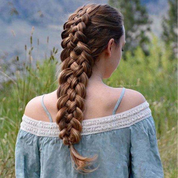 hair, hairstyle, long hair, blond, braid,